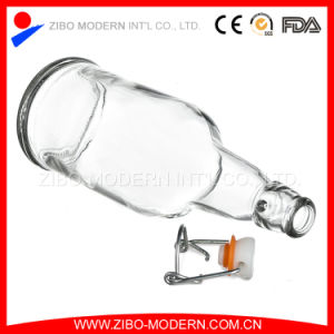 Wholesale Home Brewing Used 500 Ml Swing Top Amber Glass Beer Bottle pictures & photos