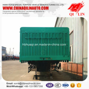 Customized 60 Tons General Cargo Delivery Side Wall Fence Trailer pictures & photos
