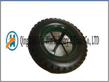 Solid PU Tire with Spoke Color (14*3.50-8) pictures & photos