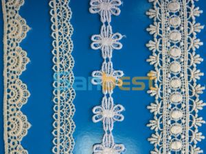 Chineses Factory of 100% Cotton Lace in Fashionable Design pictures & photos