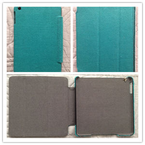 Hemp Canvas Tablet PC Case for iPad Mini/Air Case (C-002) pictures & photos