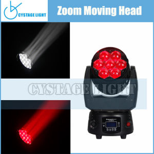 7X12.8W Mini Stage Moving Head Lighting