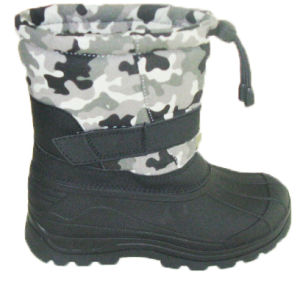 Injection Boots / Winter Snow Boots with Fashion Fabric (SNOW-190005) pictures & photos
