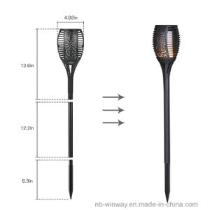 Trueflame Solar Torch Light with Flickering Flame pictures & photos