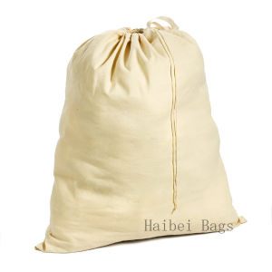 Unbleached Cotton Laundry Bag (HBLB-15) pictures & photos