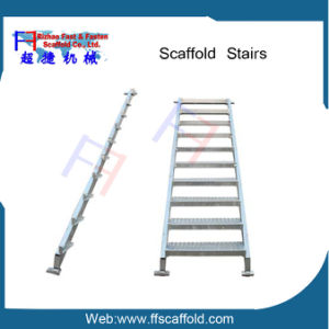 Cuplock System Scaffold Steel Stair Tread for Scaffolding Ladder pictures & photos