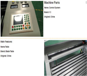 CO2 Laser Engraving Cutting Machine for Invitation Card pictures & photos