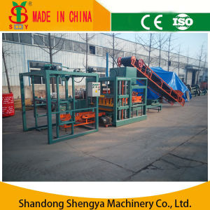 Automatic Hydraulic Concrete Hollow Block Making Machine/Concrete Block Production Line pictures & photos