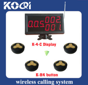 CE Approved 433.92 MHz Restaurant Call Waiter System pictures & photos