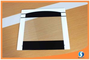 Wholesale Tempered Glass for Oven Door with Printing and Hole pictures & photos