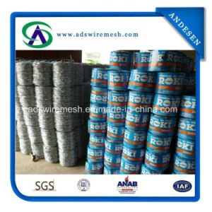 Anti-Oxidation Hot Dipped Galvanized Barbed Wire pictures & photos