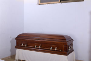 High Quality Solid Wood Casket