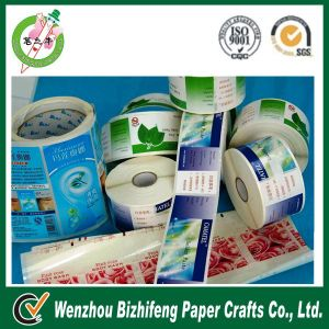 Adhesive Cosmetic Sticker Brand Label