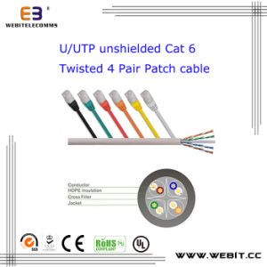 U/UTP CAT6 Patch Cable/ Patch Cord pictures & photos