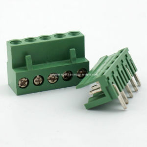 Pluggable Terminal Block (HT508-5.08mm 300V 10A 12-24AWG)