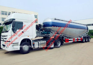 Sinotruk HOWO 10 Wheel 6*4 Truck Head and Oil Tanker Semi Trailer for Diesel, Gasoline and LPG Transportation