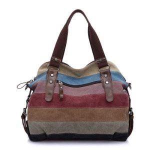 Fashion Canvas Bags, Big Volumn Women Bag, Sling Bag, Shoulder Bag, pictures & photos