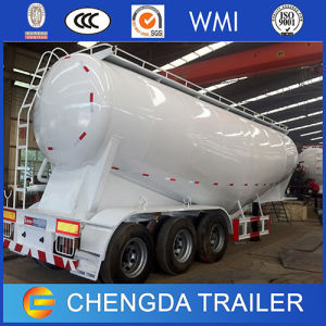 3axle 60cbm 70ton Cement Carrier Bulk Cement Cargo Semi Trailer pictures & photos