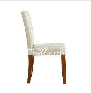 PU Leather Dining Chairs High Back Set pictures & photos