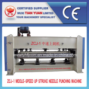 Middle Speed up Stroke Needle Punching Machine pictures & photos