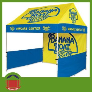 Printed Custom Logo Tent in China Factory pictures & photos