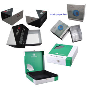 Gift Box for Electronics, Rigid Cardboard Paper Gift Packing Box pictures & photos