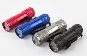 High Quality 9LED UV Light 395-400nm LED UV Flashlight Torch pictures & photos