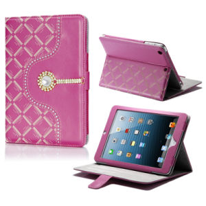 Top Selling Products Stand Wallet Leather Case for iPad 6 pictures & photos