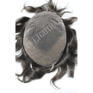 Quality Human Hair Men Toupee Nhtp006