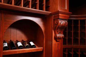 Welbom 2015 New Costumed Latticed Wine Rack Cupboard for Villars pictures & photos