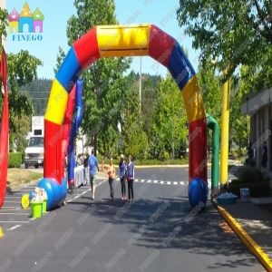 PVC Materia Inflatable Race Arh for Advertising pictures & photos