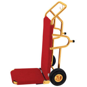 Good Quality Hotel Hand Cart (DF71) pictures & photos