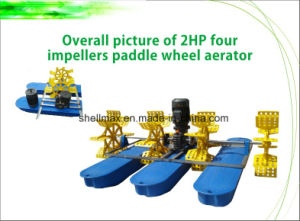 2HP 4 Paddle Shellmax Wheel Aerator pictures & photos