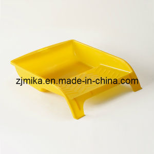 Yellow Color Plastic Paint Tray pictures & photos