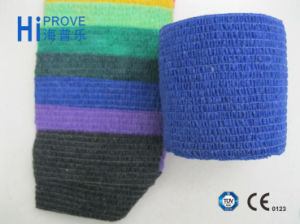 Non-Woven Elastic Medical Self Adhesive Bandage pictures & photos