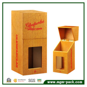 Customized Design Wooden Wine Box with Window pictures & photos