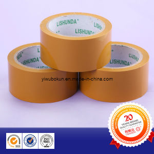 Yellow BOPP Packing Adhesive Tape pictures & photos