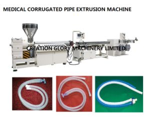 High Precision Corrugated Medical Tubing Plastic Extruder Machine pictures & photos