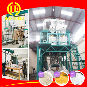 Complete Set Corn Flour Milling Line pictures & photos