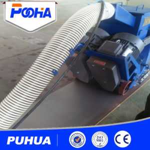 Hand Push Wheel Portable Shot Blasting Machine with Dust Collector pictures & photos