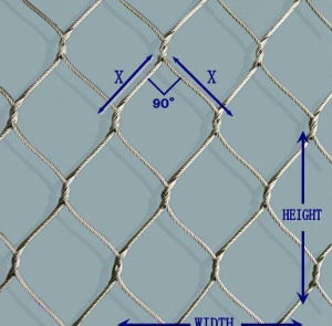 Flexible Stainless Steel Rope Net pictures & photos