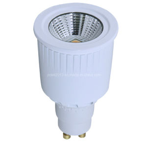 Dimmable GU10 Light 220V 7W COB LED Spotlight Lamp pictures & photos