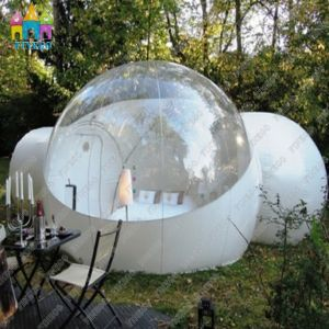 Durable 0.55PVC Tarpaulin Outdoor Camping Inflatable Clear Air Dome Tent pictures & photos
