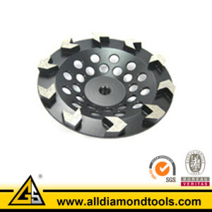 Arrow Segment Diamond Cup Wheel for Concrete pictures & photos