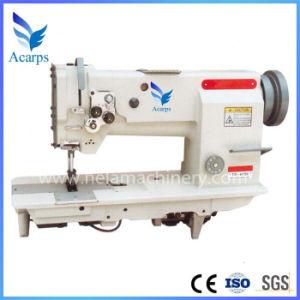 Automatic Cloth Sewing Machine Double Needle Unison Feed Lockstitch Machine