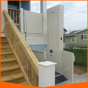 Ce Certified Disabled Home Wheelchair Lift for Home Hotel Use pictures & photos