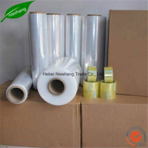 Pallet Stretch Film 500mm Plastic Wrap Clear LLDPE Stretch Film pictures & photos