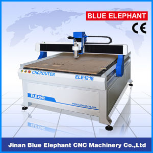 Ele-1218 CNC Router 4 Axis CNC Machine with DSP pictures & photos