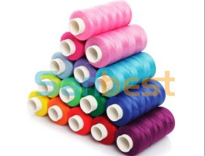Spun Polyester Sewing Thread on Small Reels pictures & photos