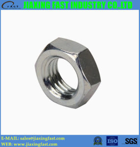 Hex Jam Nuts Hexagon Jam Nuts Hexagonal Jam Nuts DIN439 DIN936/ Fin Hex Nut pictures & photos